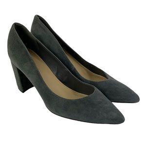 Marc Fisher Caitlin Suede Pointed Toe Pumps